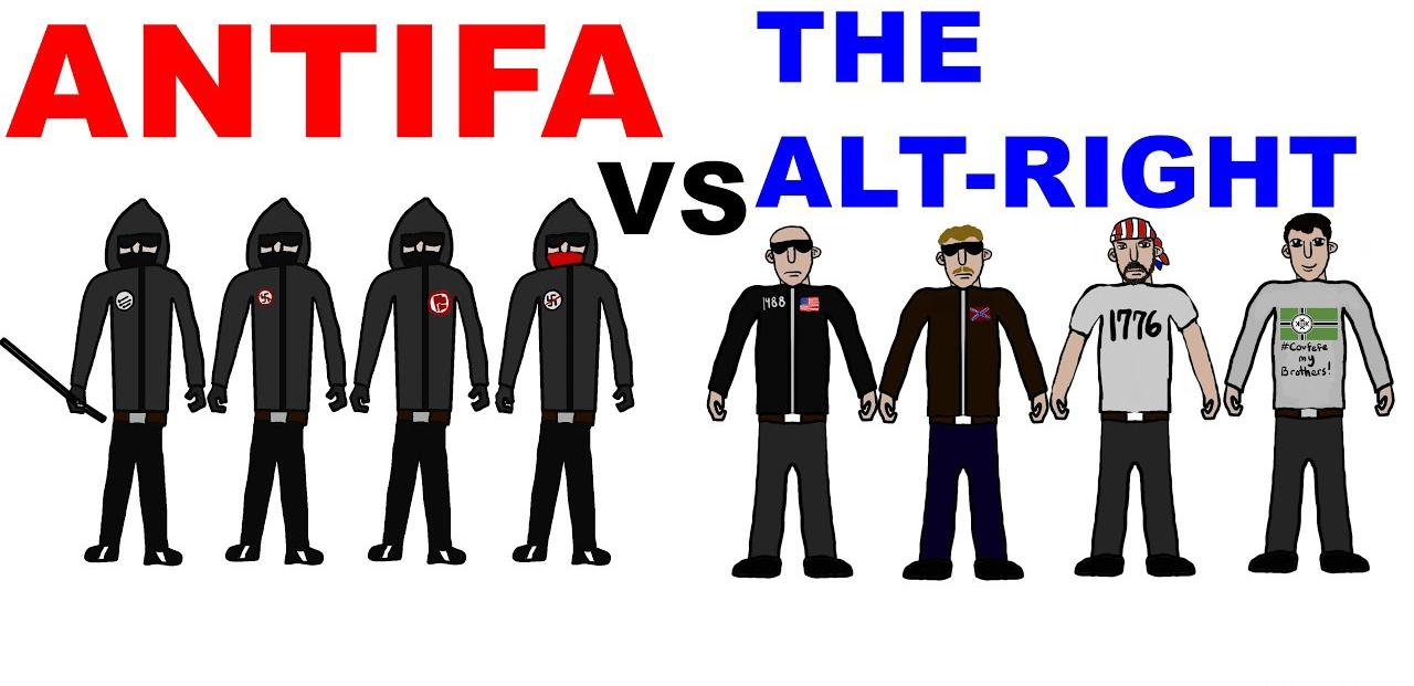 Image result for antifa alt right