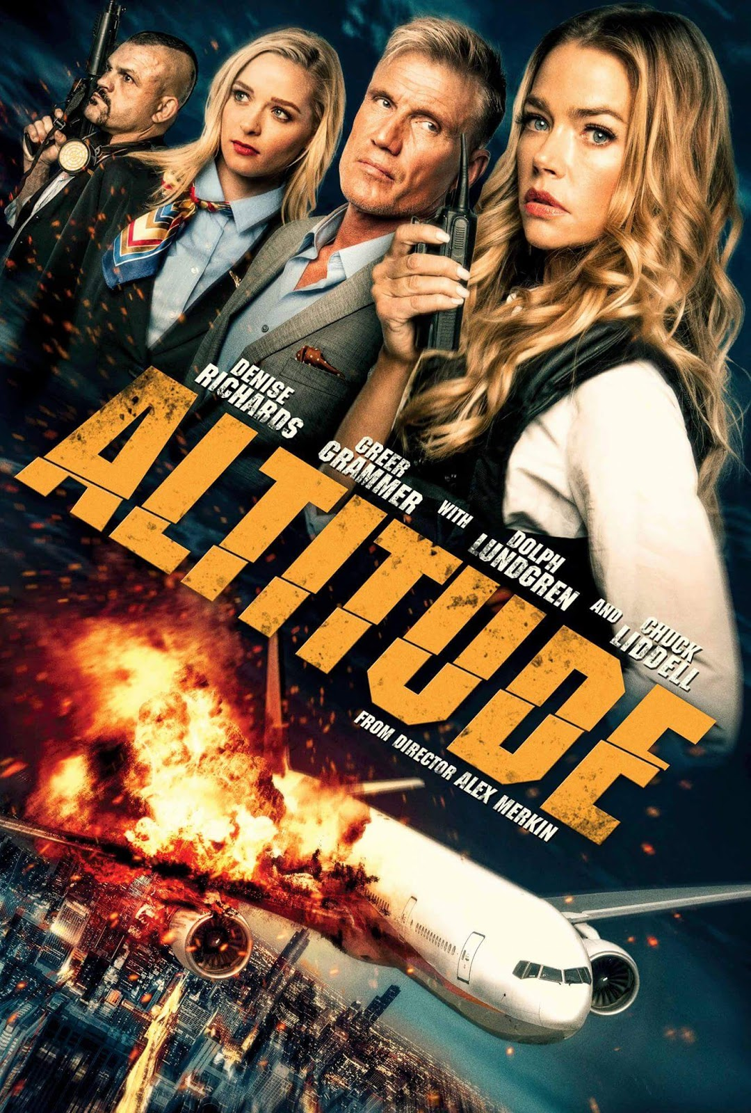 ALTITUDE: Dolph Lundgren And Denise Richards Fly The Unfriendly Skies In  The Latest Trailer