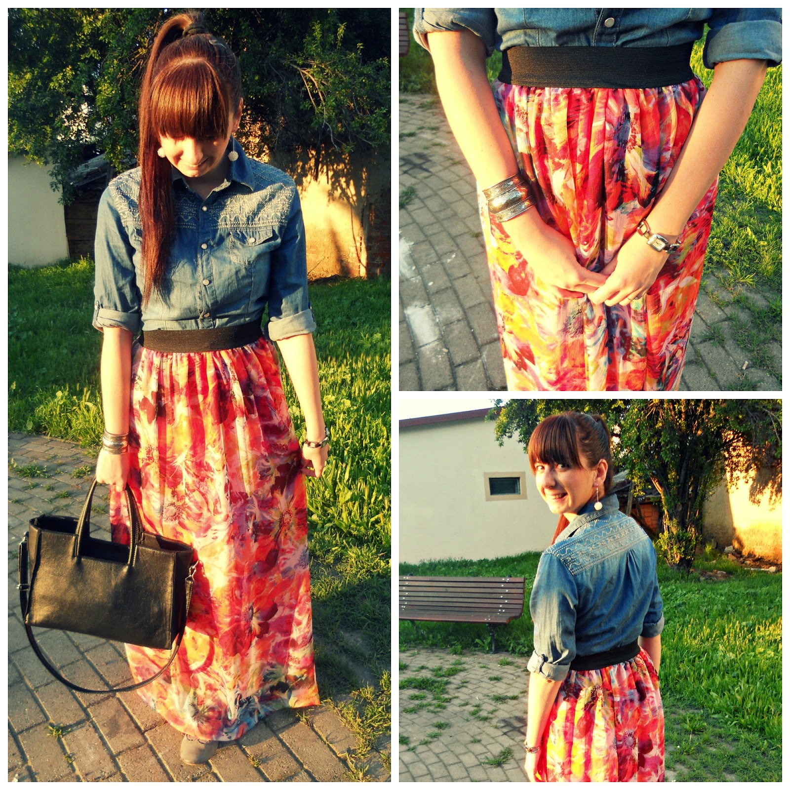 http://sanjaburgundy.blogspot.com/2014/05/denim-shirt-long-skirt.html