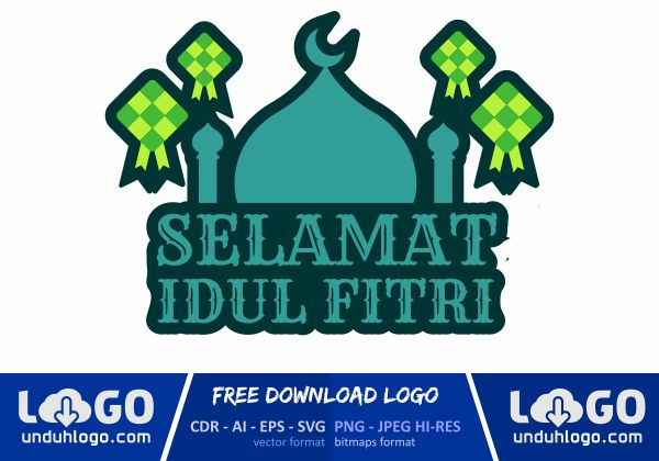 Logo Idul Fitri Download Vector Cdr Ai Png
