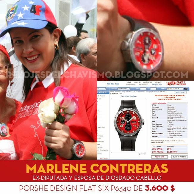 By Cabell Design Studio: Los Relojes Del Chavismo: La Esposa De Diosdado Cabello