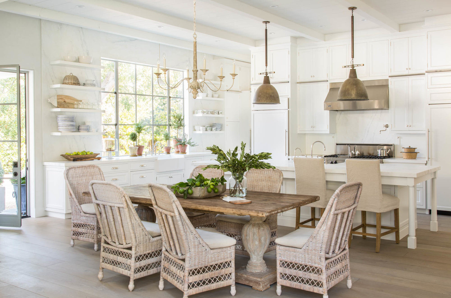 Get The Look! 15 Decorating Ideas From A Dreamy Kitchen In