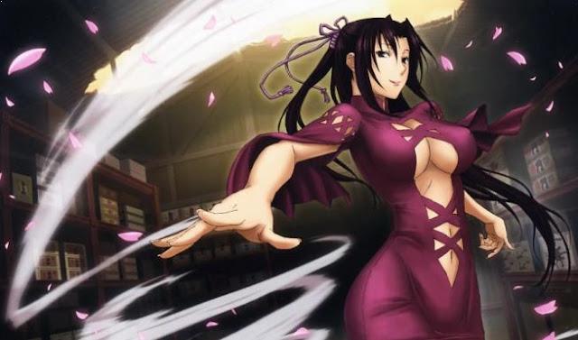 Kazehana (Sekirei) - Karakter Anime Berkekuatan Angin Terkuat