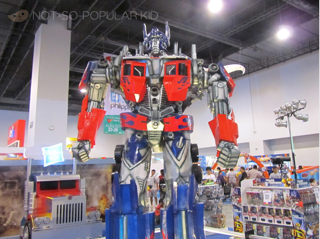 Optimus Prime Transformers Toy Expo 2012
