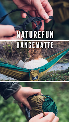 Gear of the Week #GOTW KW 03 | NatureFun Hängematte | ultraleichte-Hängematte zum Reisen | Trekking-Hängematte