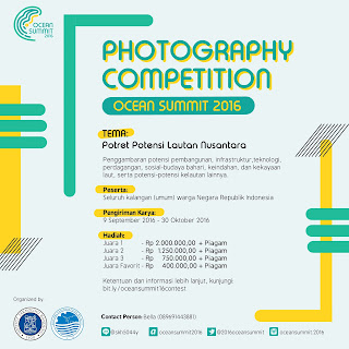 Ocean Summit 2016: Photography Competition