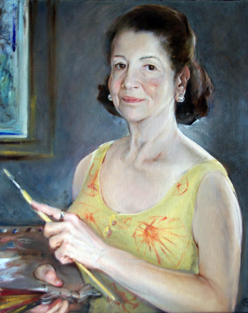 Rosario Carrillo, Portraits of Painters, Self Portrait