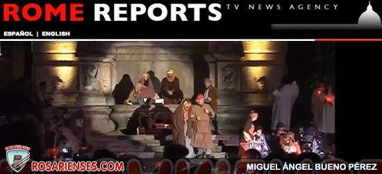 Un espectacular Nacimiento viviente ayuda a revivir la Navidad en Roma | Rosarienses, Villa del Rosario