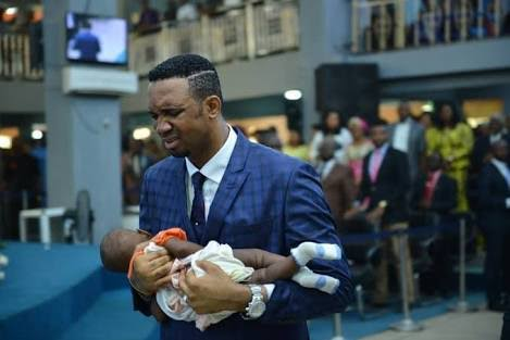 Dr. Chris Okafor Returns Baby Into Woman's Womb After 22 Months Of Pregnancy