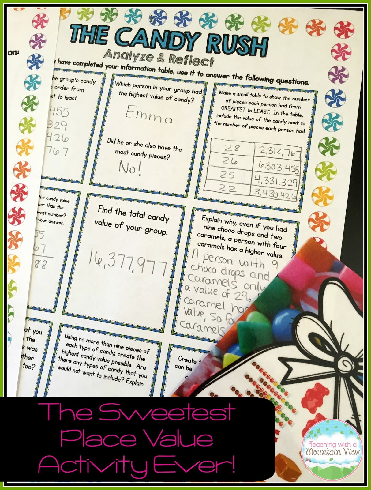 Critical and creative thinking activities answers