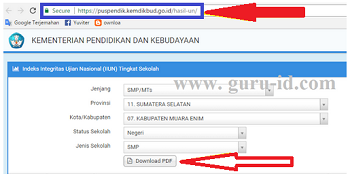 Cek Hasil UN Online SD, SMP, SMA, SMK