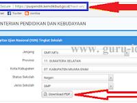 puspendik.kemdikbud.go.id: Alamat Cek Hasil UN Online SD, SMP, SMA, SMK