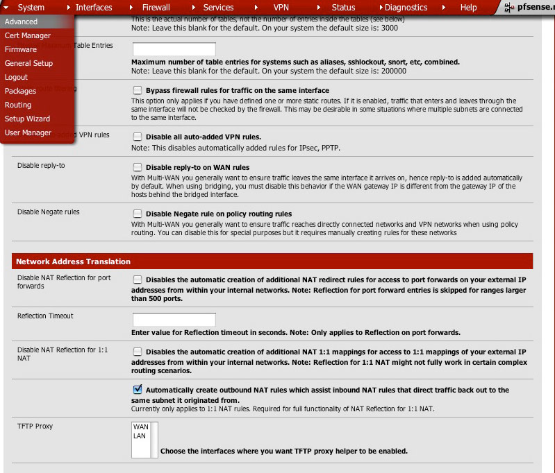 My blog on pfsense 2 0 2, 2 0 3: pfsense 2 0 1 for FTP & Web Server