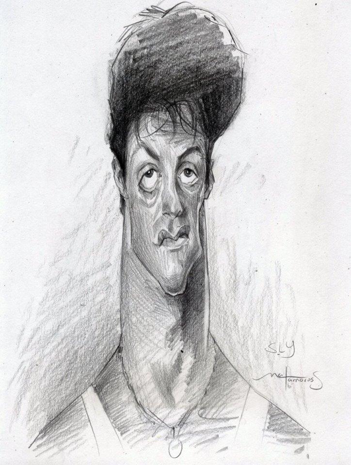 Sylvester Stallone por Sergio Matamoros