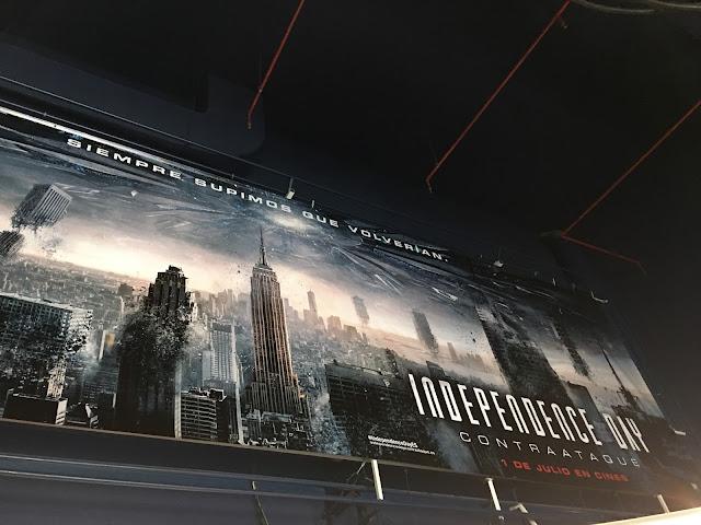 Evento por el estreno de 'Independence Day: Contraataque'