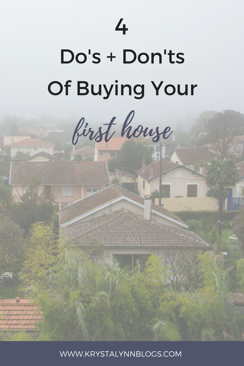 I've learned a few things in my journey to buy a house (some I had to learn the hard way) and I am sharing them with you today!  Get ready for the Do's and Don'ts of buying your very first home!