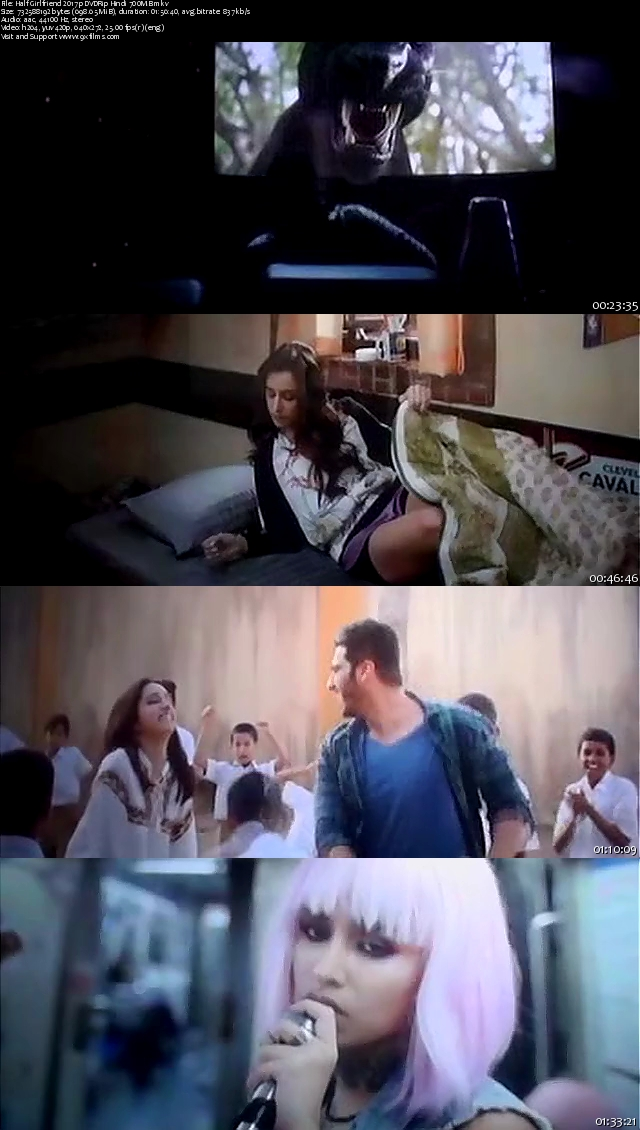 Half Girlfriend 2017 pDVDRip Hindi 700MB