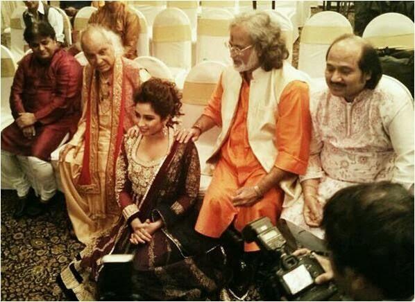 Birthday of Shreya Ghoshal with Pandit Jasraj, Pandit Vishwa Mohan Bhatt and Pandit Ronu Majumdar