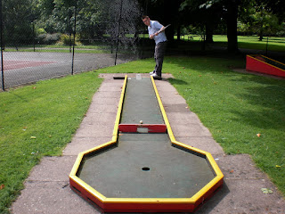 Florence Park Crazy Golf course