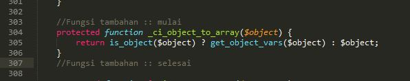 Bagaimana memperbaiki Fatal error _ci_object_to_array() hmvc di codeingiter ?