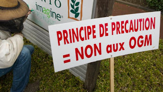 Monsanto Guilty of Chemical Poisoning in France - Principe de Precaution NON aux OGM