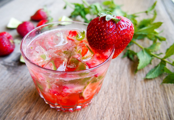 Minuman Mojito Strawberry
