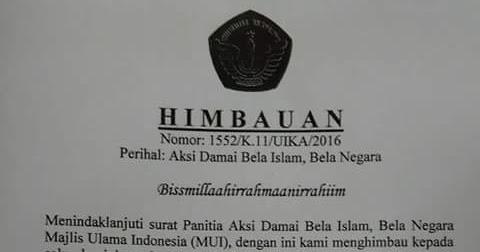 Hebat Kampus Ini Liburkan Kegiatannya Untuk Dukung Aksi Bela Islam