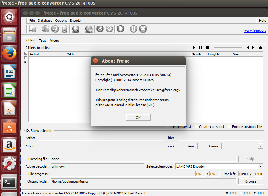 How to Install fre:ac Audio Converter Under Ubuntu/Linux Mint