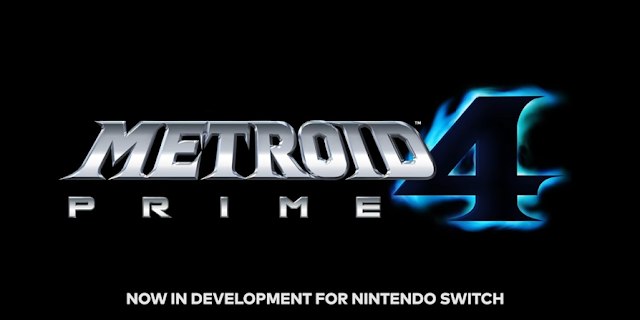Metroid Prime 4 Nintendo Switch development logo title