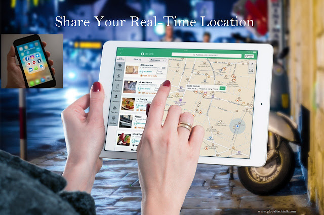 How to Share Your Real-Time Location Friends/Family in WhatsApp and Other Apps