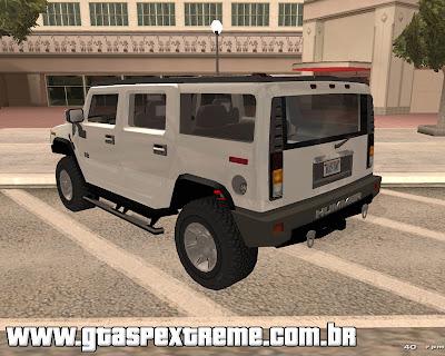 Hummer H2 para grand theft auto