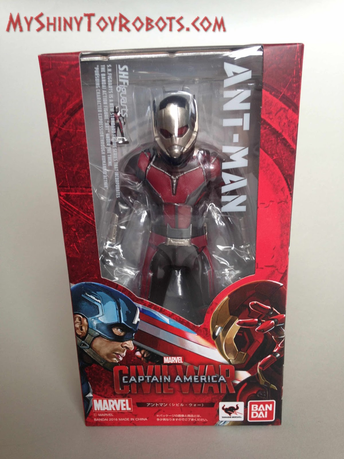 My Shiny Toy Robots: Toybox REVIEW: S.H. Figuarts Ant-Man