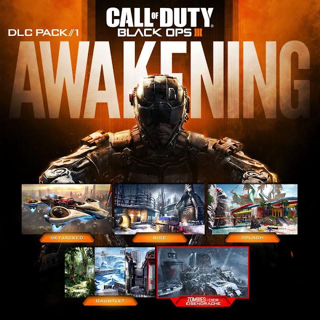 Awakening de COD: Black Ops 3 gratis a partir del lunes
