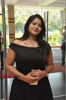 Telugu Actress Swathi Reddy Latest Stills in Black Gown  0056.JPG