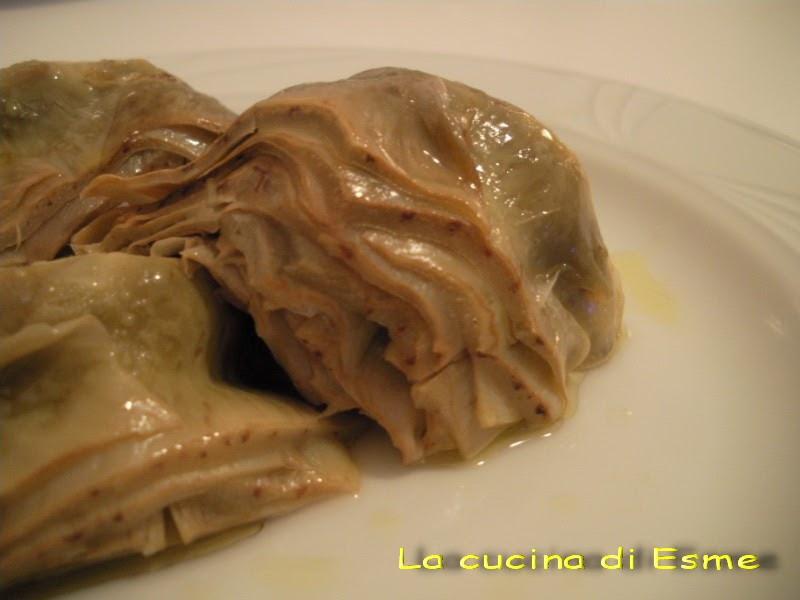 La cucina di esme carciofi alla romana - La cucina di esme ...
