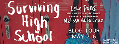 http://xpressobooktours.com/2016/03/11/tour-sign-up-surviving-high-school-by-lele-pons-melissa-de-la-cruz/
