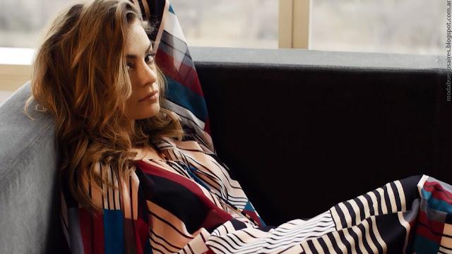 Moda otoño invierno 2016 colección Naima. Campaña con Dolores Fonzi y looks de tendencia.