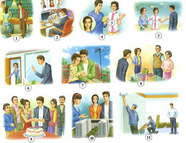 Học từ vựng tiếng Trung bằng hình ảnh