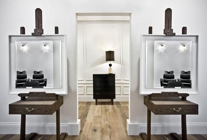 Ryan Mc Elhinneyu0027s Salon for Adee Phelan Salons, Salon interior