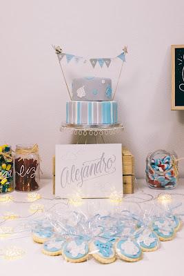 mesa de dulces bautizo