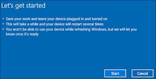 Setting ulang instaladi windows 10