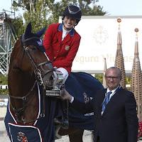 HÍPICA - Primer gran triunfo de Jessica Springsteen, en la Copa de la Reina