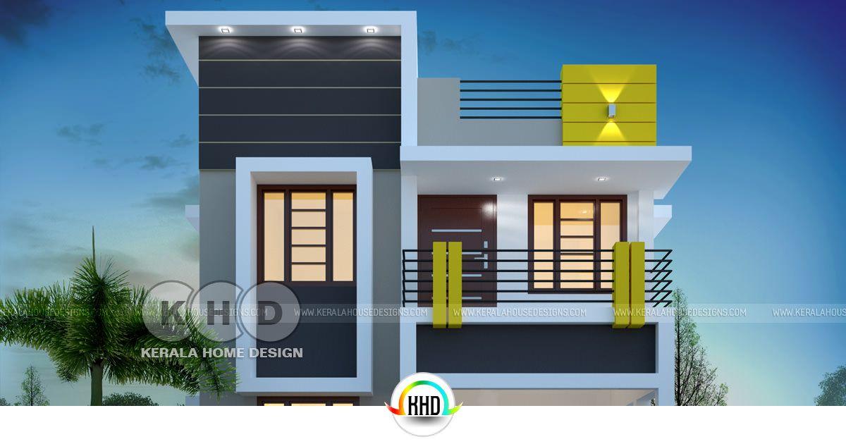 3 Bedroom 1400 Sqft Cute Budget Home Design Kerala Home Design