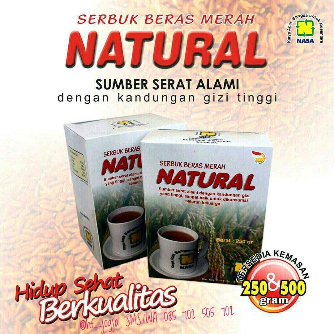 Jual Beli Serbuk Beras Merah Natural Sbmn Nasa Back To Nature Ska 72 Kedelai Alami Organik