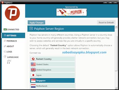 Cara Internet Gratis Axis-XL-Telkomsel Dengan Psiphon di PC | Sabadi ...