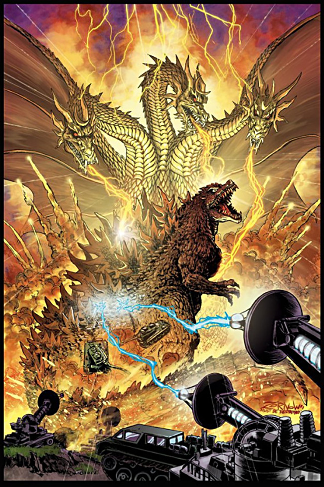 Jeff Zornow (US) - Godzilla comic book