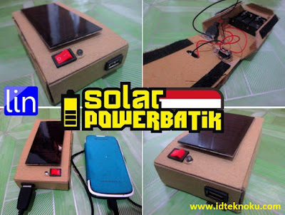 Solar Powerbatik, Solusi Powerbank Tenaga Surya