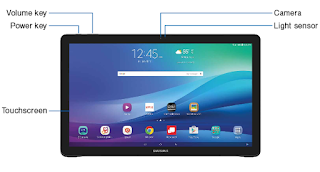 "Samsung Galaxy View 18.4"" (SM-T677VZKBVZW) User Guide PDF download (English)"