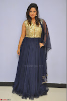Shilpa Chakravarthy anchor and actress in anarkali dress  Exclusive 019.JPG