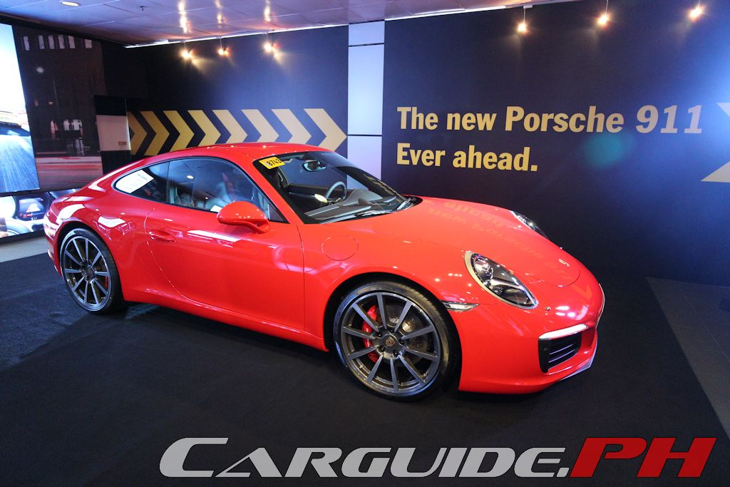 porsche philippines unveils new 911 carrera and carrera s carguide ph phi. Black Bedroom Furniture Sets. Home Design Ideas
